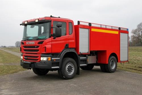 کامیون آتشنشانی اسکانیا